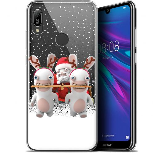 """Coque Gel Huawei Y6 2019 (6.1"""") Extra Fine Lapins Crétins™ - Lapin Traineau"""