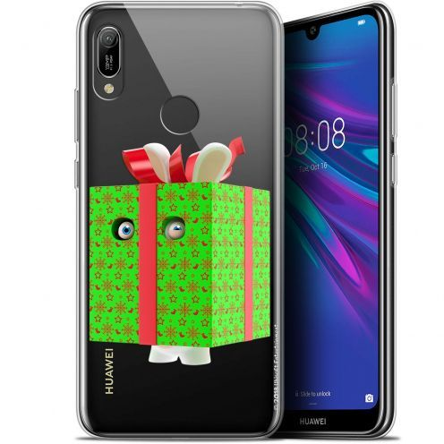 """Coque Gel Huawei Y6 2019 (6.1"""") Extra Fine Lapins Crétins™ - Lapin Surprise Vert"""