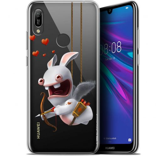 """Coque Gel Huawei Y6 2019 (6.1"""") Extra Fine Lapins Crétins™ - Flying Cupidon"""