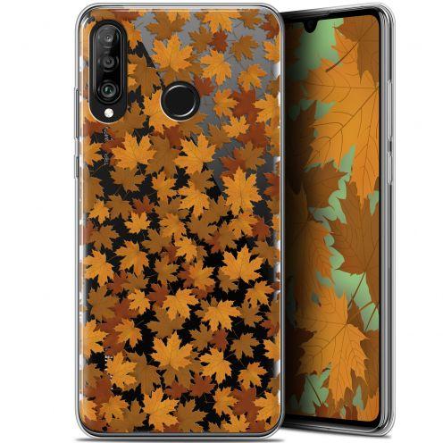 "Coque Gel Huawei P30 Lite (6.2"") Extra Fine Autumn 16 - Feuilles"