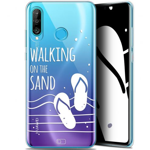 "Coque Gel Huawei P30 Lite (6.2"") Extra Fine Summer - Walking on the Sand"