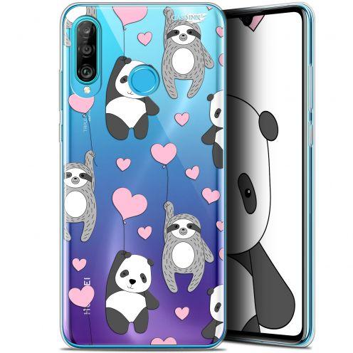 """Coque Gel Huawei P30 Lite (6.2"""") Extra Fine Motif -  Panda'mour"""