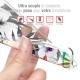 "Coque Gel Huawei P30 Lite (6.2"") Extra Fine Motif -  Fashionista"