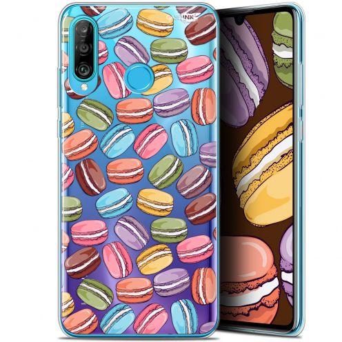 "Coque Gel Huawei P30 Lite (6.2"") Extra Fine Motif -  Macarons"