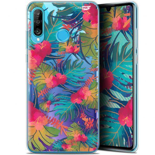 """Coque Gel Huawei P30 Lite (6.2"""") Extra Fine Motif -  Couleurs des Tropiques"""