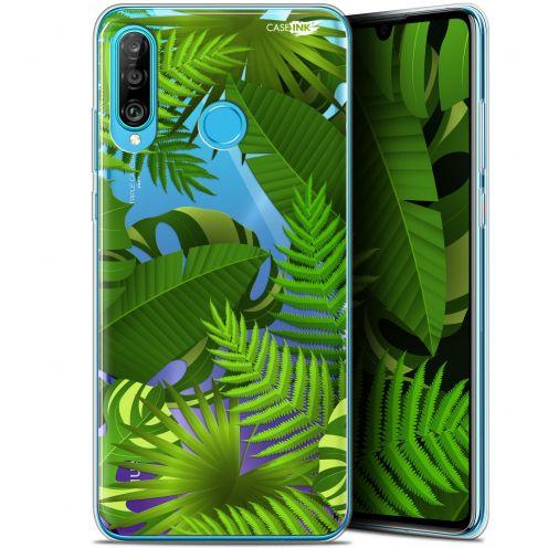 "Coque Gel Huawei P30 Lite (6.2"") Extra Fine Motif -  Plantes des Tropiques"