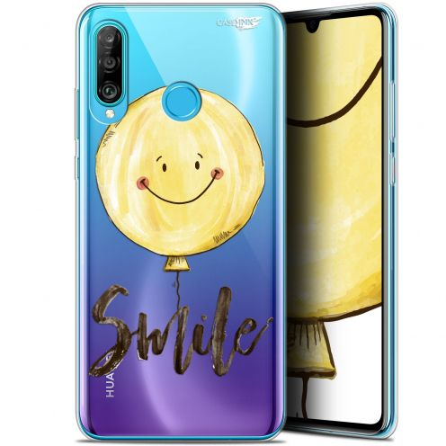 "Coque Gel Huawei P30 Lite (6.2"") Extra Fine Motif - Smile Baloon"