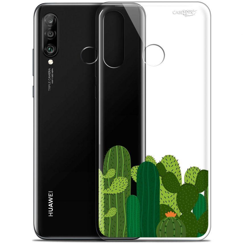 "Coque Gel Huawei P30 Lite (6.2"") Extra Fine Motif - Cactus"