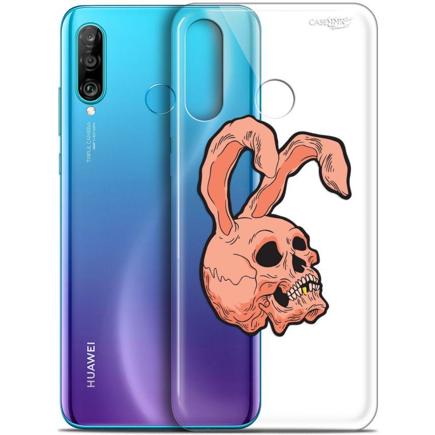 "Coque Gel Huawei P30 Lite (6.2"") Extra Fine Motif - Rabbit Skull"