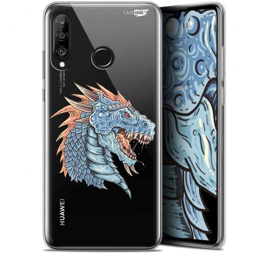 "Coque Gel Huawei P30 Lite (6.2"") Extra Fine Motif -  Dragon Draw"