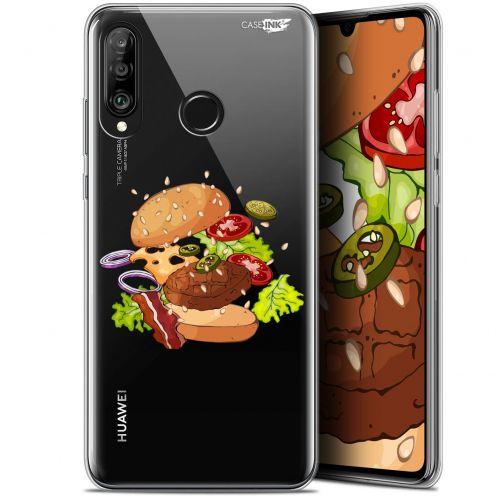 "Coque Gel Huawei P30 Lite (6.2"") Extra Fine Motif - Splash Burger"