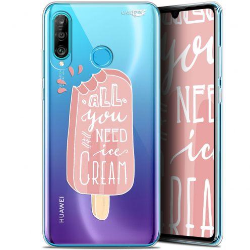 "Coque Gel Huawei P30 Lite (6.2"") Extra Fine Motif -  Ice Cream"