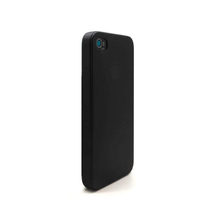 Visuel supplémentaire de Coque Ultra Fine 0.3mm Frost iPhone 4/4S Noire