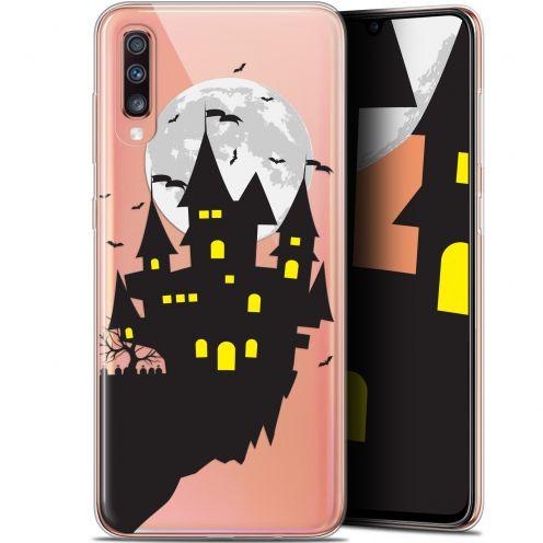 "Coque Gel Samsung Galaxy A70 (6.7"") Extra Fine Halloween - Castle Dream"