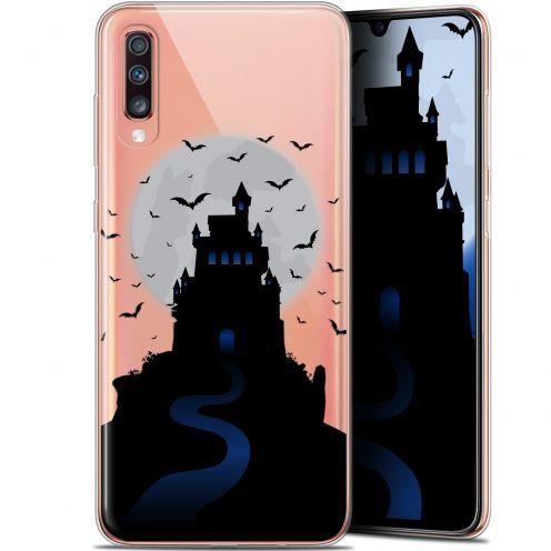 """Coque Gel Samsung Galaxy A70 (6.7"""") Extra Fine Halloween - Castle Nightmare"""