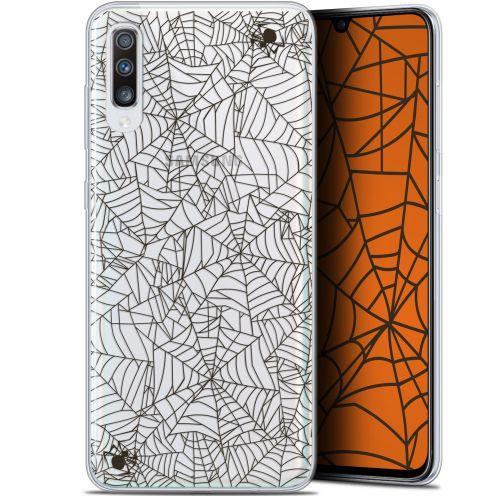 "Coque Gel Samsung Galaxy A70 (6.7"") Extra Fine Halloween - Spooky Spider"