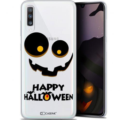 "Coque Gel Samsung Galaxy A70 (6.7"") Extra Fine Halloween - Happy"