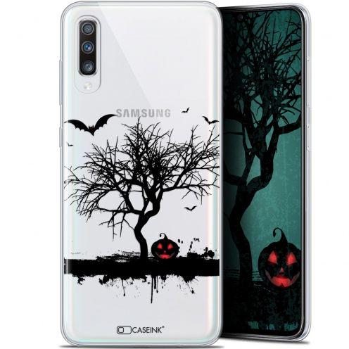 "Coque Gel Samsung Galaxy A70 (6.7"") Extra Fine Halloween - Devil's Tree"