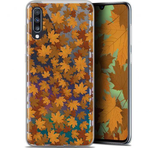 "Coque Gel Samsung Galaxy A70 (6.7"") Extra Fine Autumn 16 - Feuilles"