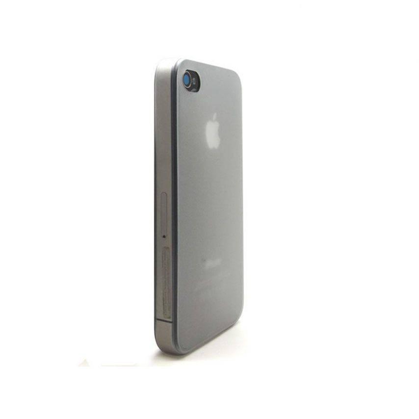 Visuel supplémentaire de Coque Ultra Fine 0.3mm Frost iPhone 4/4S Blanche