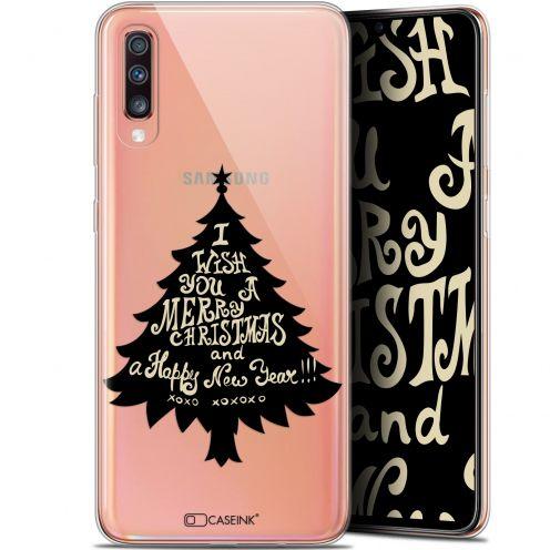"Coque Gel Samsung Galaxy A70 (6.7"") Extra Fine Noël 2017 - XOXO Tree"