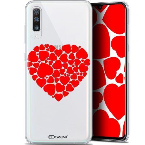 """Coque Gel Samsung Galaxy A70 (6.7"""") Extra Fine Love - Coeur des Coeurs"""