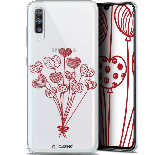 "Coque Gel Samsung Galaxy A70 (6.7"") Extra Fine Love - Ballons d'amour"