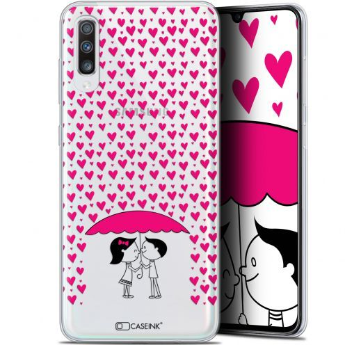 "Coque Gel Samsung Galaxy A70 (6.7"") Extra Fine Love - Pluie d'Amour"