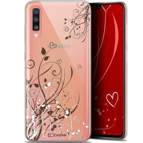 "Coque Gel Samsung Galaxy A70 (6.7"") Extra Fine Love - Hearts Flowers"