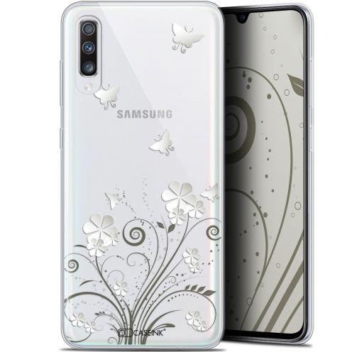 "Coque Gel Samsung Galaxy A70 (6.7"") Extra Fine Summer - Papillons"