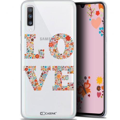 "Coque Gel Samsung Galaxy A70 (6.7"") Extra Fine Summer - Love Flowers"