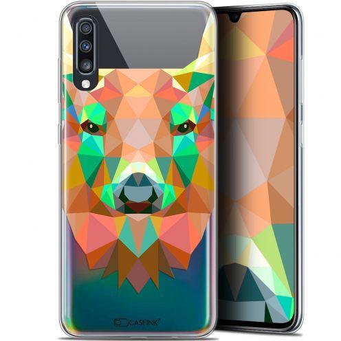 "Coque Gel Samsung Galaxy A70 (6.7"") Extra Fine Polygon Animals - Cerf"