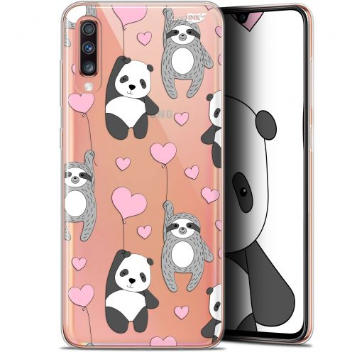 "Coque Gel Samsung Galaxy A70 (6.7"") Extra Fine Motif -  Panda'mour"