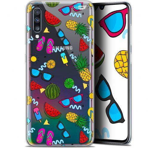 "Coque Gel Samsung Galaxy A70 (6.7"") Extra Fine Motif - Summers"