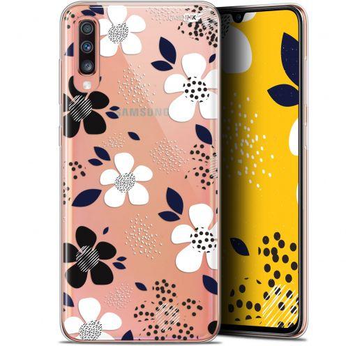 "Coque Gel Samsung Galaxy A70 (6.7"") Extra Fine Motif - Marimeko Style"