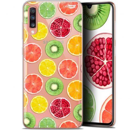 """Coque Gel Samsung Galaxy A70 (6.7"""") Extra Fine Motif - Fruity Fresh"""