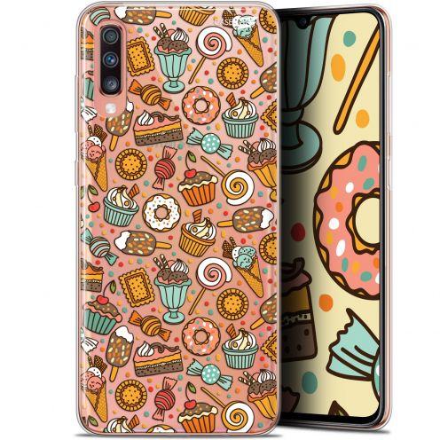 """Coque Gel Samsung Galaxy A70 (6.7"""") Extra Fine Motif - Bonbons"""