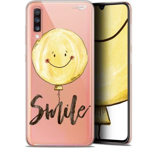 "Coque Gel Samsung Galaxy A70 (6.7"") Extra Fine Motif - Smile Baloon"