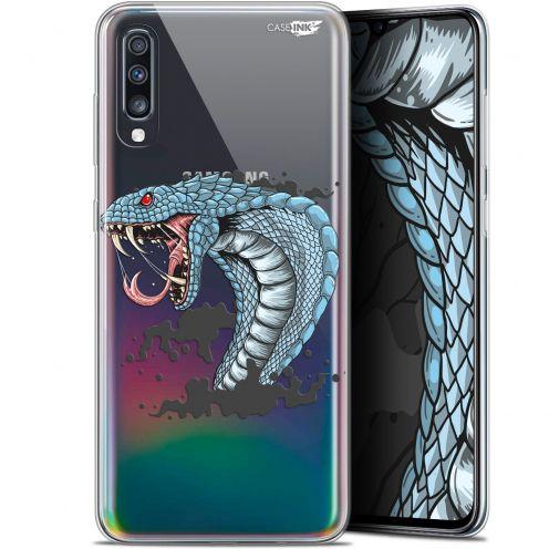 """Coque Gel Samsung Galaxy A70 (6.7"""") Extra Fine Motif - Cobra Draw"""