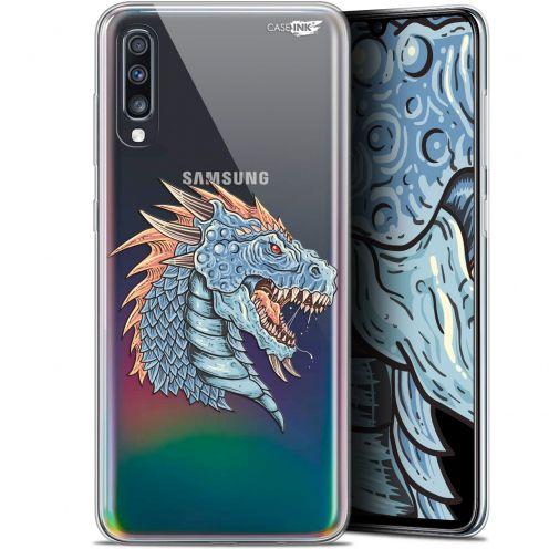 """Coque Gel Samsung Galaxy A70 (6.7"""") Extra Fine Motif - Dragon Draw"""