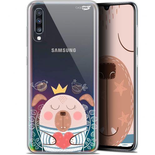 "Coque Gel Samsung Galaxy A70 (6.7"") Extra Fine Motif - Sketchy Dog"