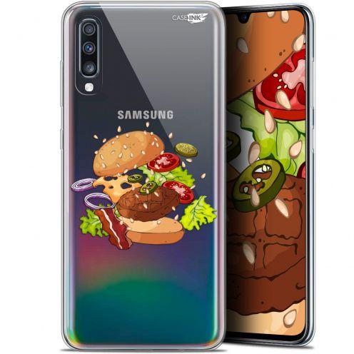 "Coque Gel Samsung Galaxy A70 (6.7"") Extra Fine Motif -  Splash Burger"