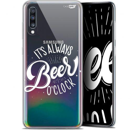 "Coque Gel Samsung Galaxy A70 (6.7"") Extra Fine Motif - Its Beer O'Clock"