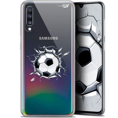 """Coque Gel Samsung Galaxy A70 (6.7"""") Extra Fine Motif - Le Balon de Foot"""