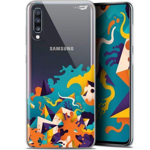 """Coque Gel Samsung Galaxy A70 (6.7"""") Extra Fine Motif -  Les Vagues"""