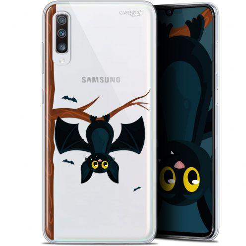 """Coque Gel Samsung Galaxy A70 (6.7"""") Extra Fine Motif -  Petite Chauve Souris"""