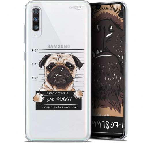 "Coque Gel Samsung Galaxy A70 (6.7"") Extra Fine Motif -  Beware The Puggy Dog"