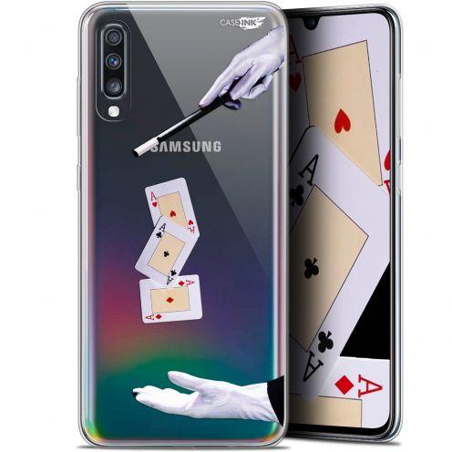 """Coque Gel Samsung Galaxy A70 (6.7"""") Extra Fine Motif - Cartes Magiques"""