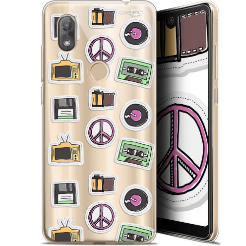 "Coque Gel Wiko View 2 (6"") Extra Fine Motif -  Vintage Stickers"