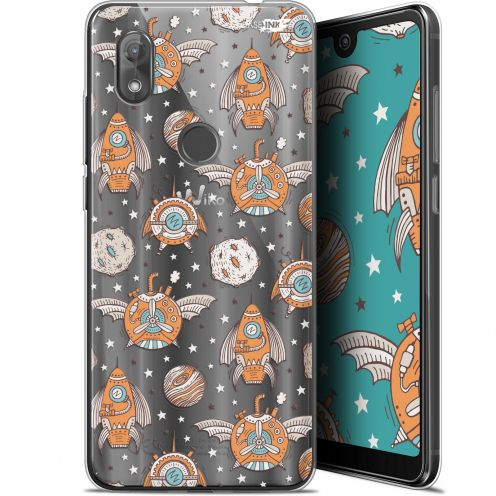 "Coque Gel Wiko View 2 (6"") Extra Fine Motif -  Punk Space"